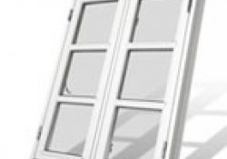 Flotte og billige vinduer til den moderne bolig, palævillaen eller bondehuset