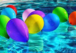 Flotte heliumballoner er perfekte, når du giver en flad gave