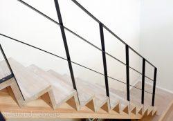 Trappegelænder i stål er en holdbar og moderne løsning